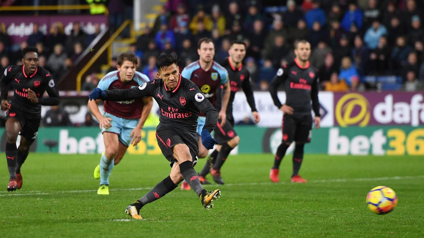 Burnley 0-1 Arsenal