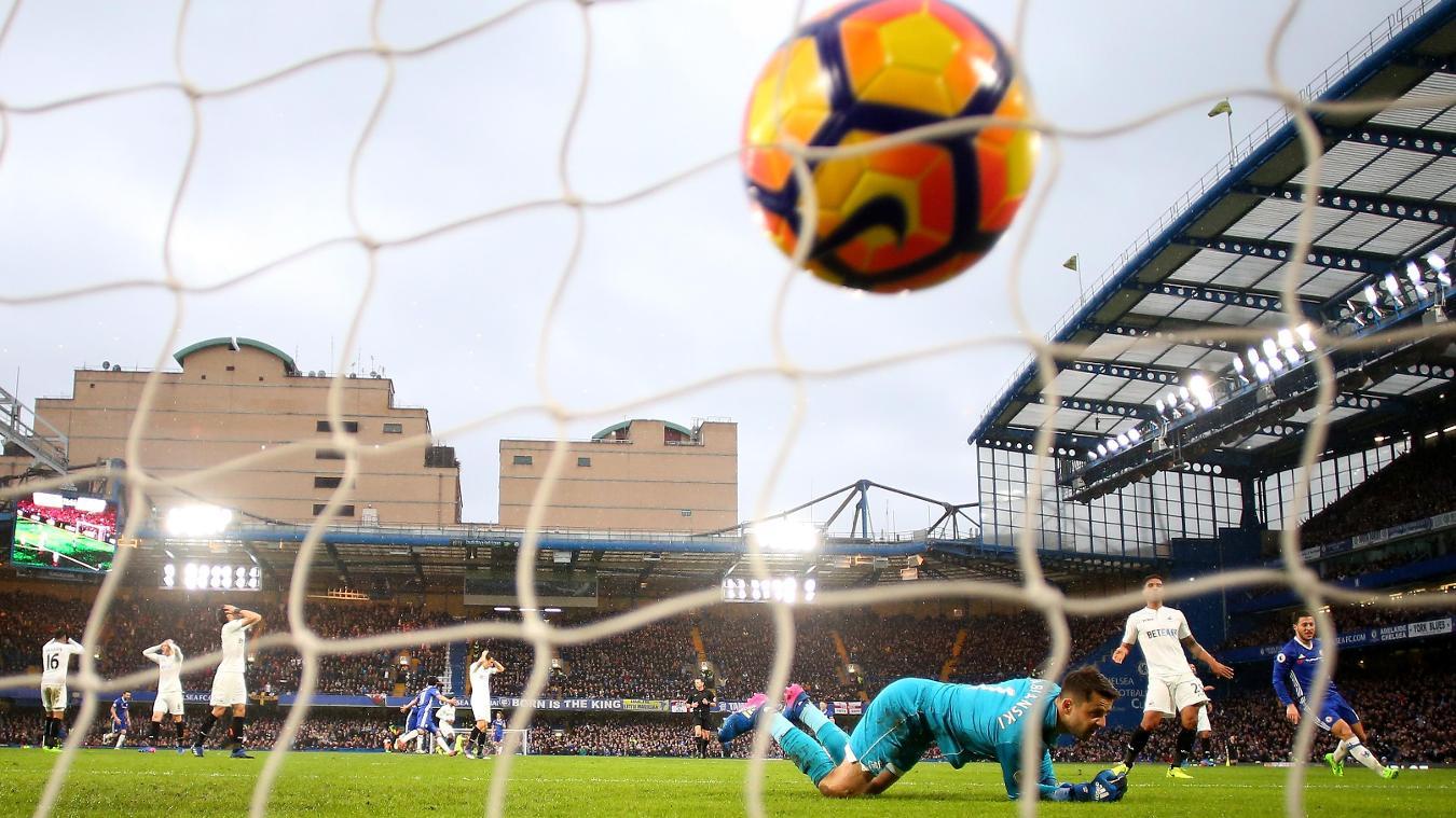 Chelsea v Swansea, 29 November