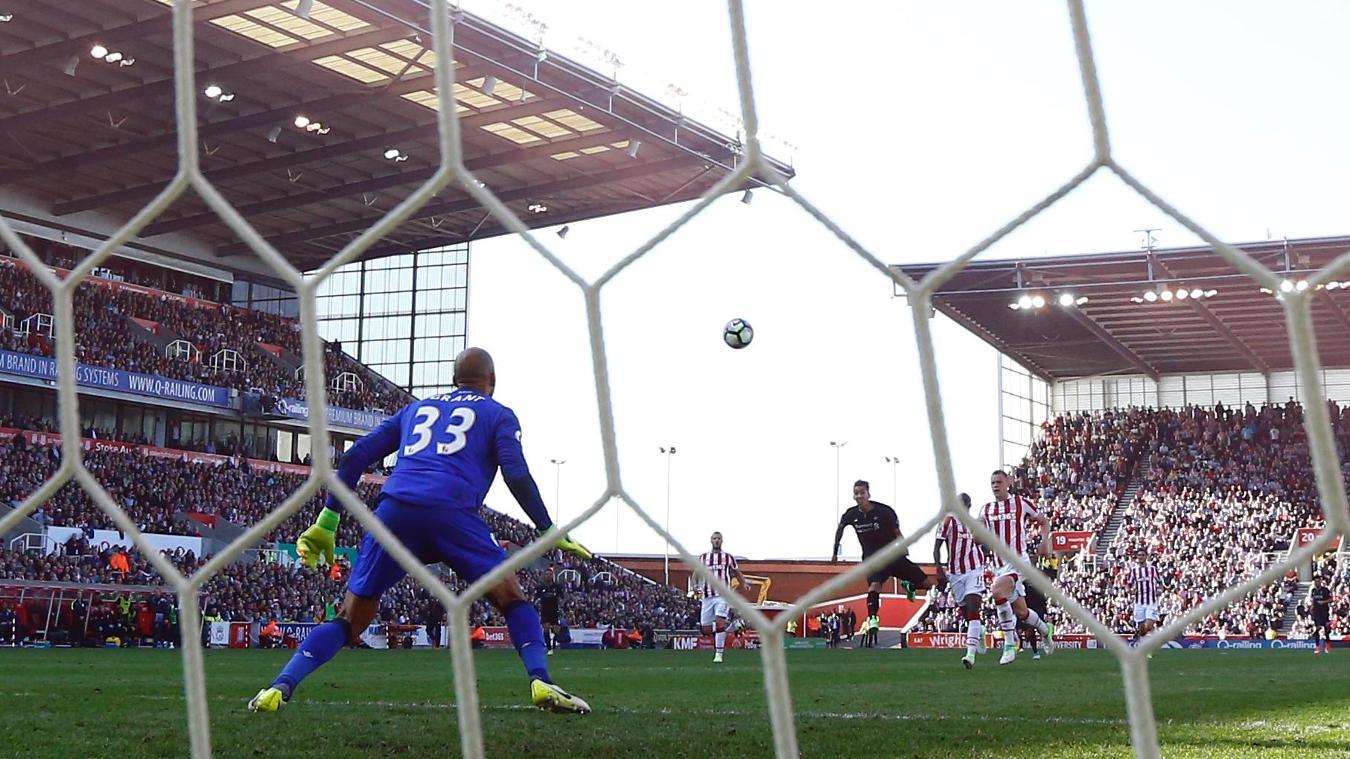 Stoke v Liverpool, 29 November