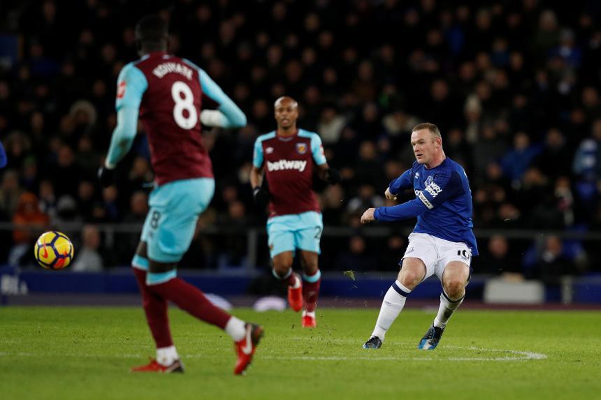 Everton 4-0 West Ham United