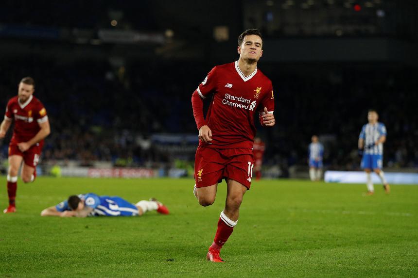 Brighton & Hove Albion 1-5 Liverpool