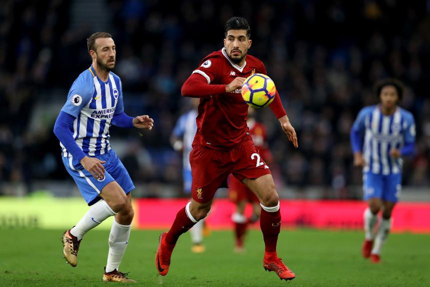 Brighton and Hove Albion v Liverpool - Premier League