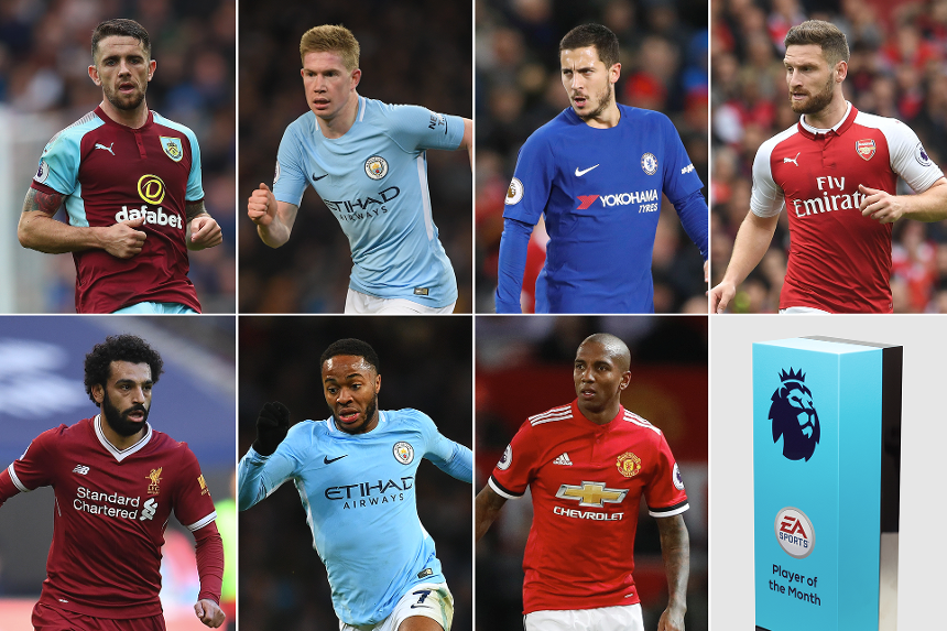 EA SPORTS Player of the Month for November shortlist