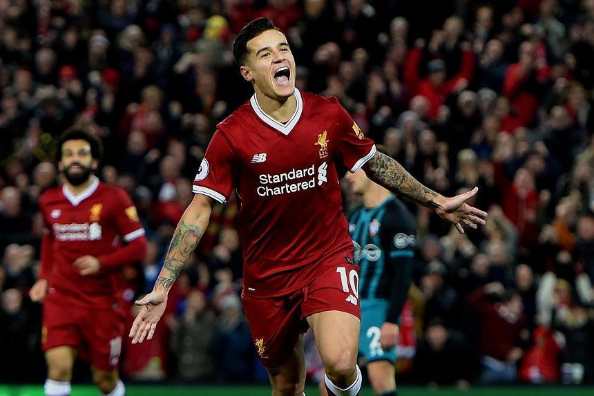 Philippe Coutinho, Liverpool