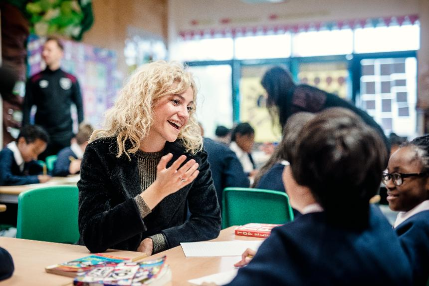 Pixie Lott, Our Lady and St Joseph Catholic Primary School