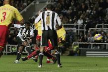 Flashback: Martins edges Newcastle past Watford