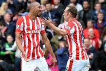 Goal of the day: N'Zonzi curls in for Stoke