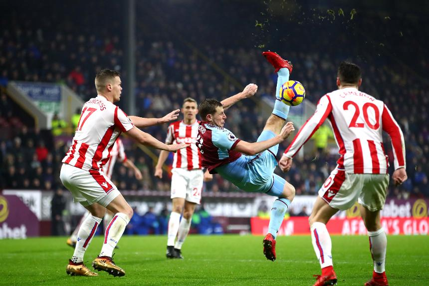 Burnley 1-0 Stoke City
