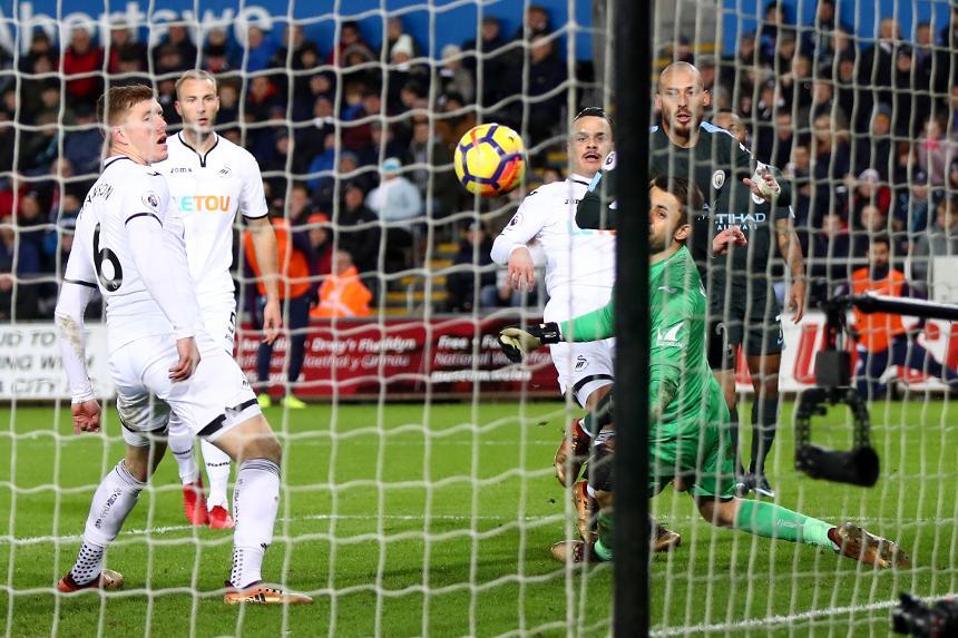 Swansea City 0-4 Manchester City