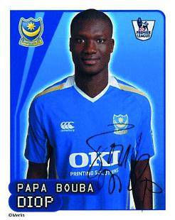 Papa Bouba Diop Topps Football Stickers West Ham United Premier League