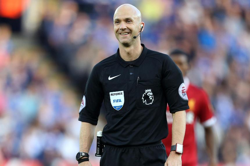 Anthony Taylor, referee