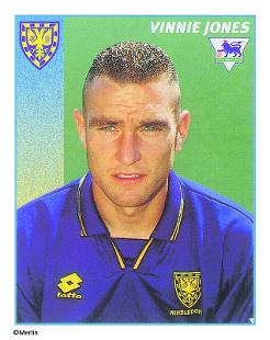 Vinnie Jones Topps Football Stickers, | Premier League