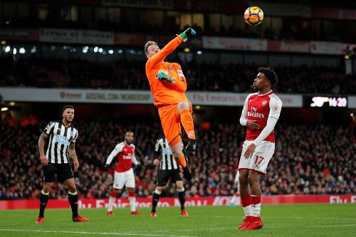 Arsenal V Newcastle 2017 18 Premier League