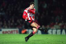 Goal of the day: Lift off for Le Tissier