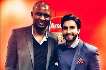 Ranveer Singh: I melted when I met my hero Vieira!