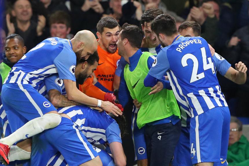 Brighton & Hove Albion 1-0 Watford