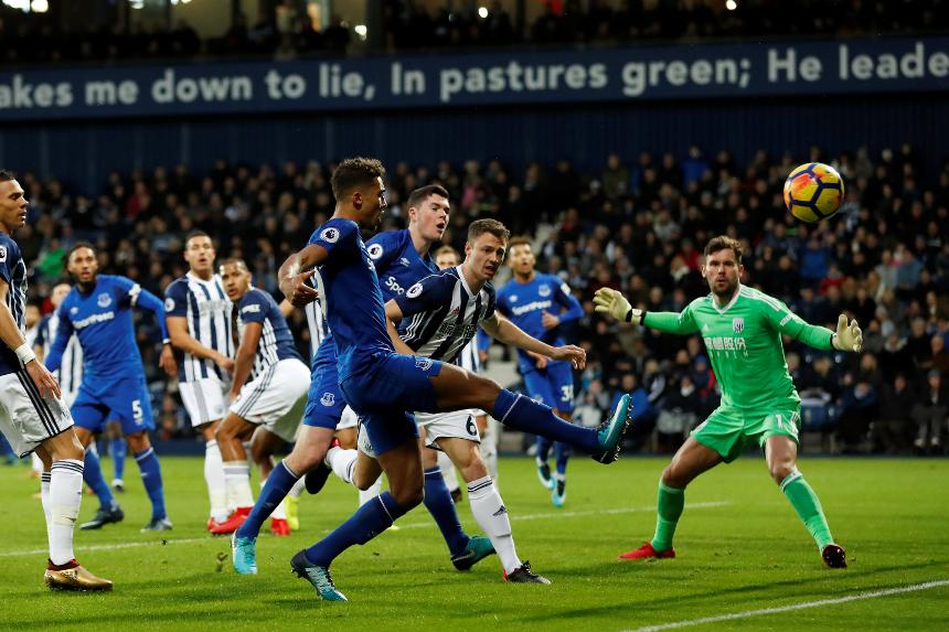 West Bromwich Albion vs Everton
