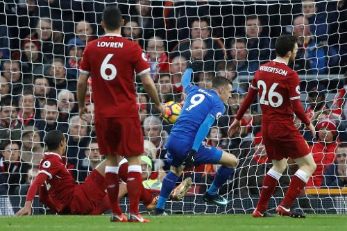 Liverpool V Leicester 2017 18 Premier League