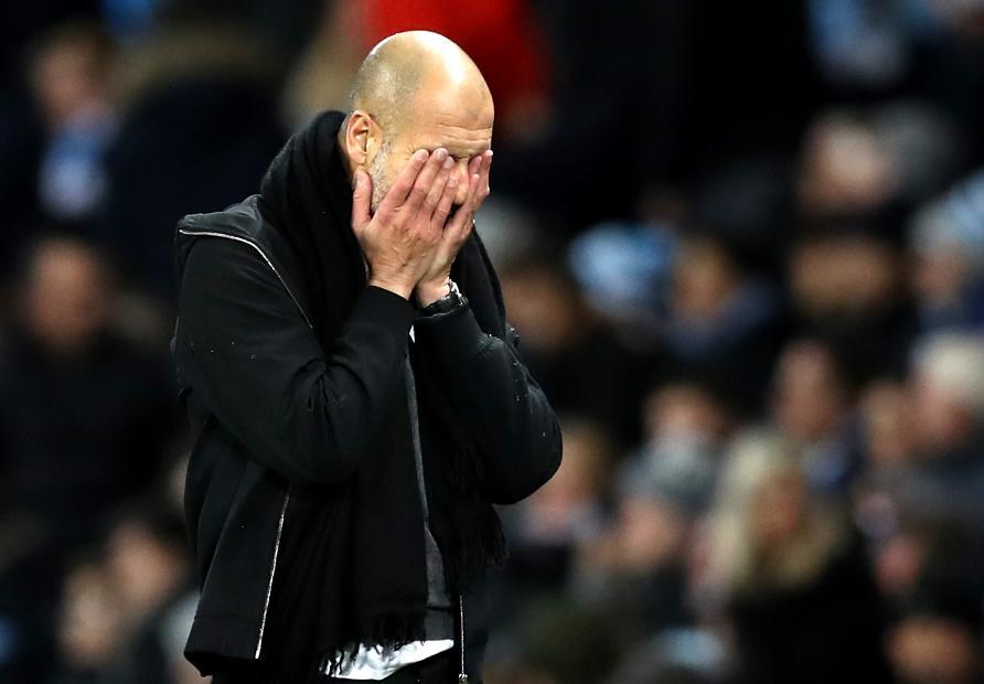 Manchester City v Watford - Pep Guardiola