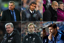 Barclays Manager of the Month shortlist