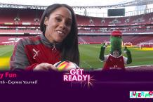 Super Movers: Alex Scott and Gunnersaurus