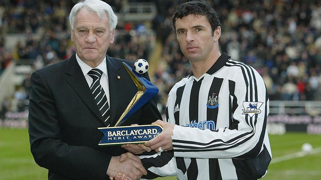 Bobby Robson and Gary Speed, Newcastle
