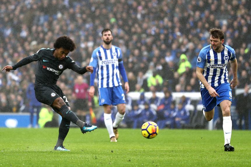 Brighton & Hove Albion 0-4 Chelsea