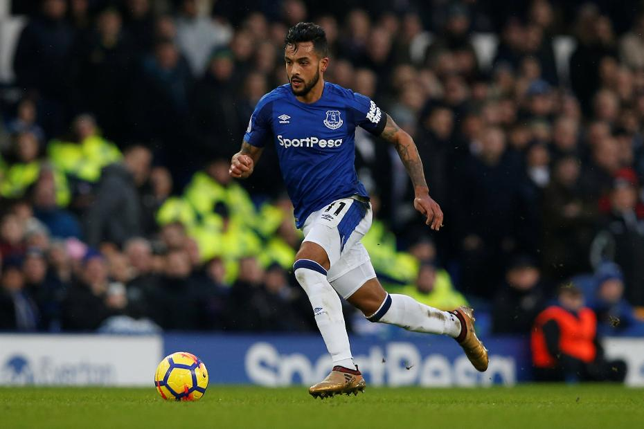 Theo Walcott - Everton vs West Bromwich Albion