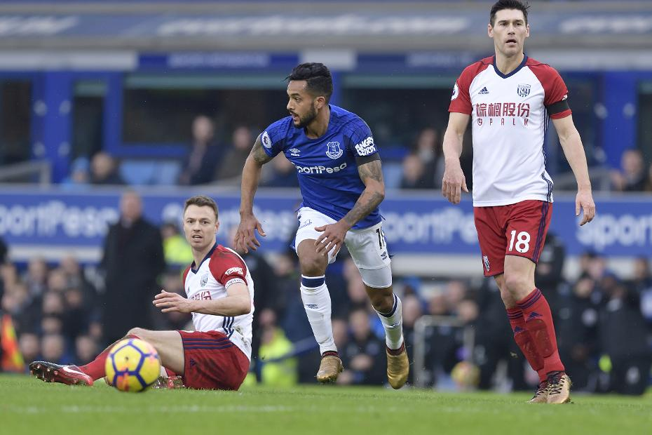 Everton v West Bromwich Albion - Theo Walcott