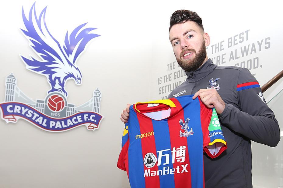 Erdal Rakip signs for Crystal Palace on loan