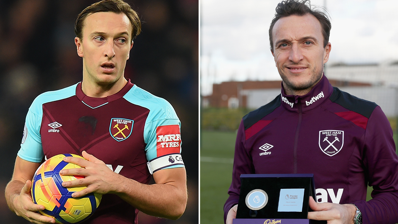 Premier League Milestones, Mark Noble