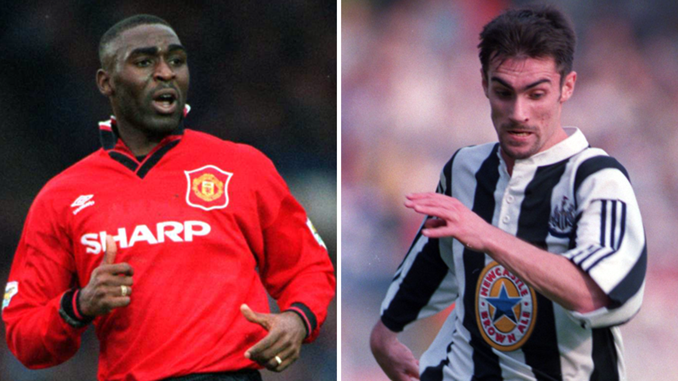 Andrew Cole, Keith Gillespie