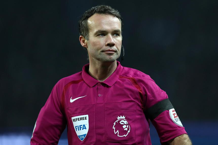 Referee PaulTierney