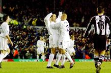 Goal of the day: Viduka's turn and finish