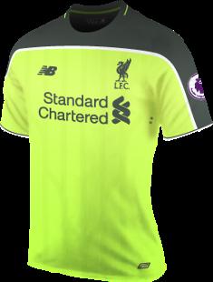 Baju Liverpool 2016