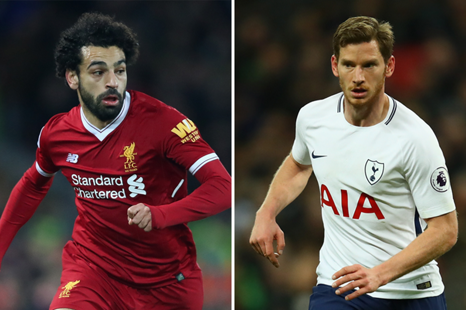 Mohamed Salah-Jan Vertonghen