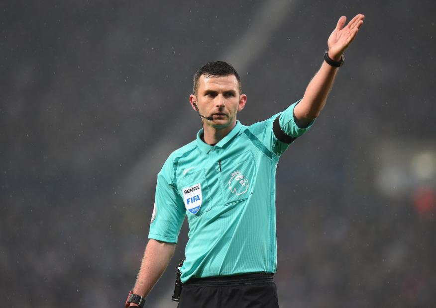Michael Oliver, referee