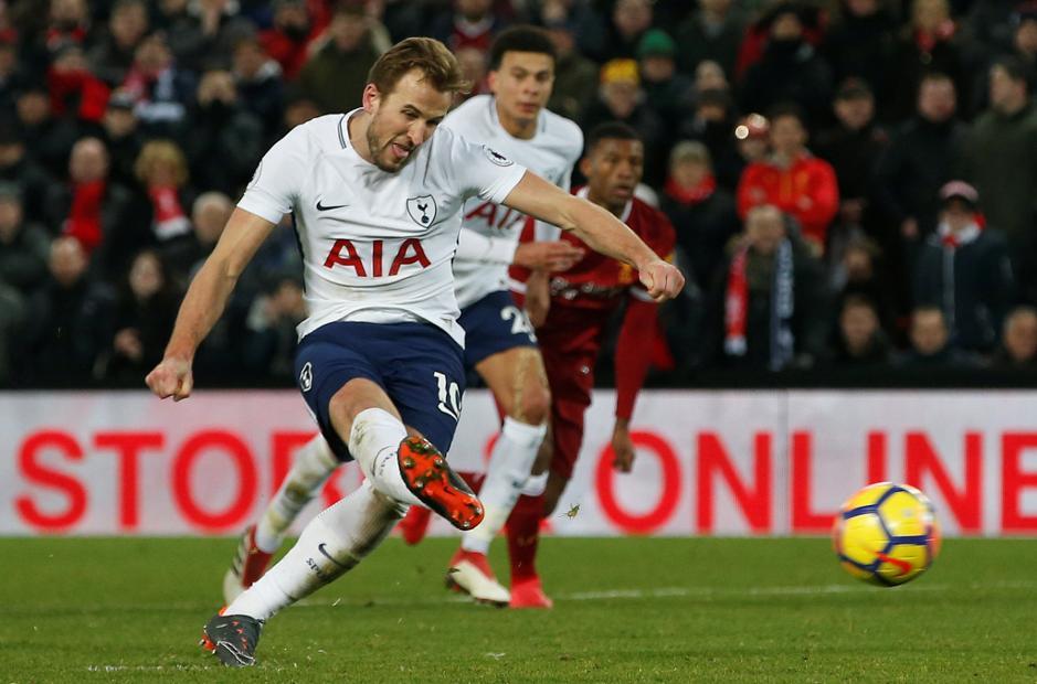 Harry Kane - Liverpool v Tottenham Hotspur