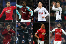 January's Carling Goal of the Month shortlist