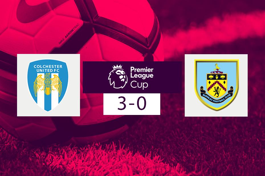 Colchester v Burnley, PL Cup