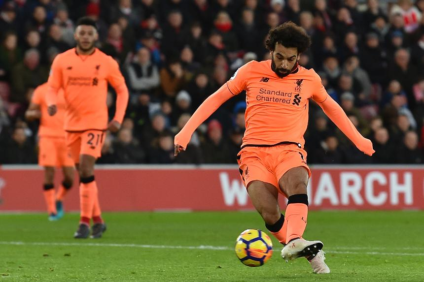 Southampton v Liverpool - Mohamed Salah