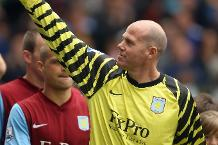 Iconic Moment: Friedel becomes Villa's oldest player