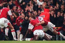 Goal of the day: Vieira's cracker for Arsenal