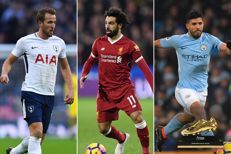 Race for the Golden Boot: Harry Kane, Mohamed Salah and Sergio Aguero