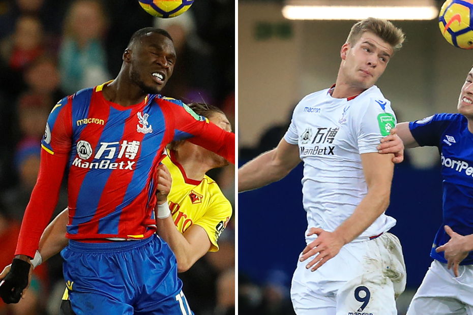 Benteke and Sorloth, Crystal Palace