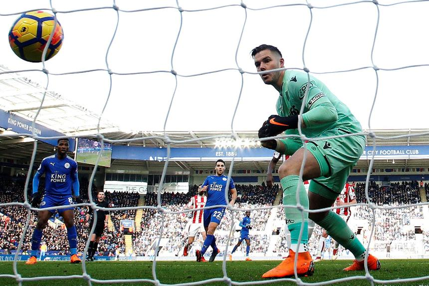 Leicester City v Stoke City, Jack Butland