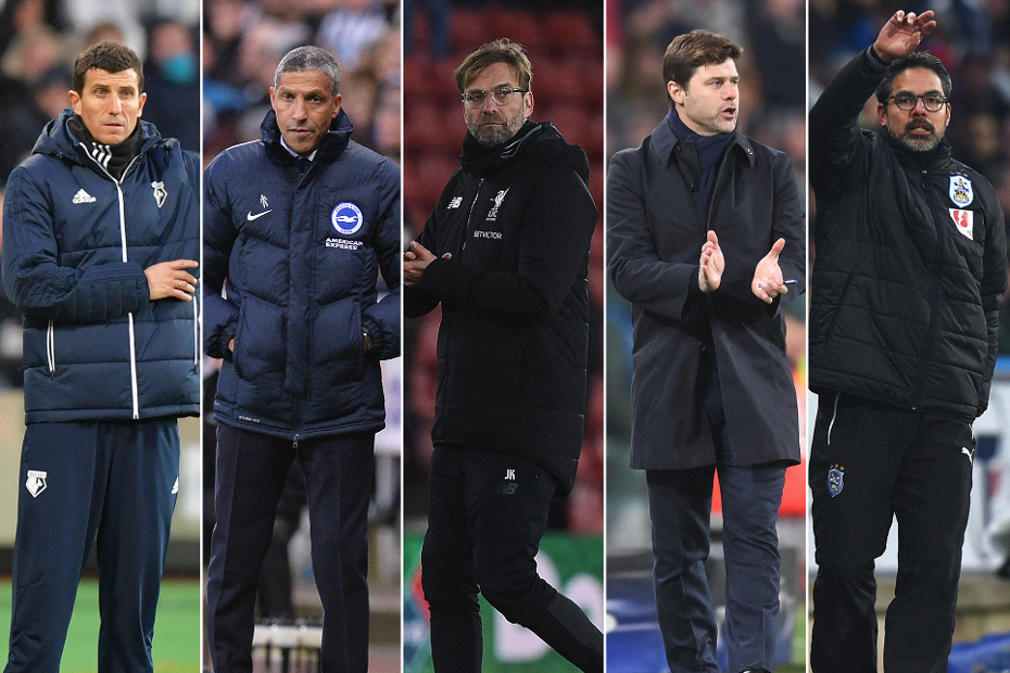 Barclays Manager of the Month shortlist for February 2018