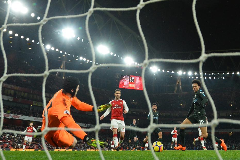 Arsenal 0-3 Manchester City
