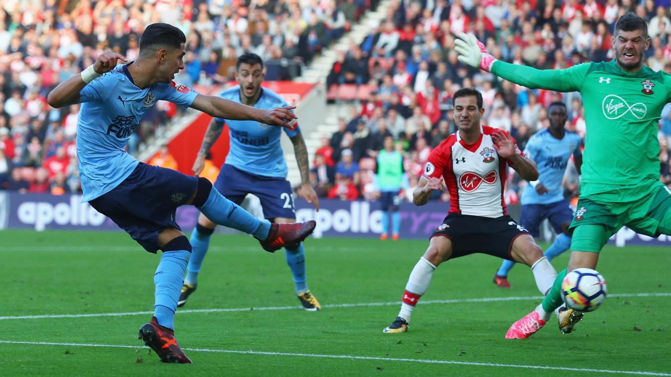Newcastle United v Southampton, 10 March