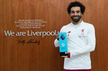 Salah wins EA SPORTS Player of the Month